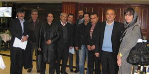 هیات موسس اتحادیه تولیدکنندگان و صادرکنندگان چرم مصنوعی ایران